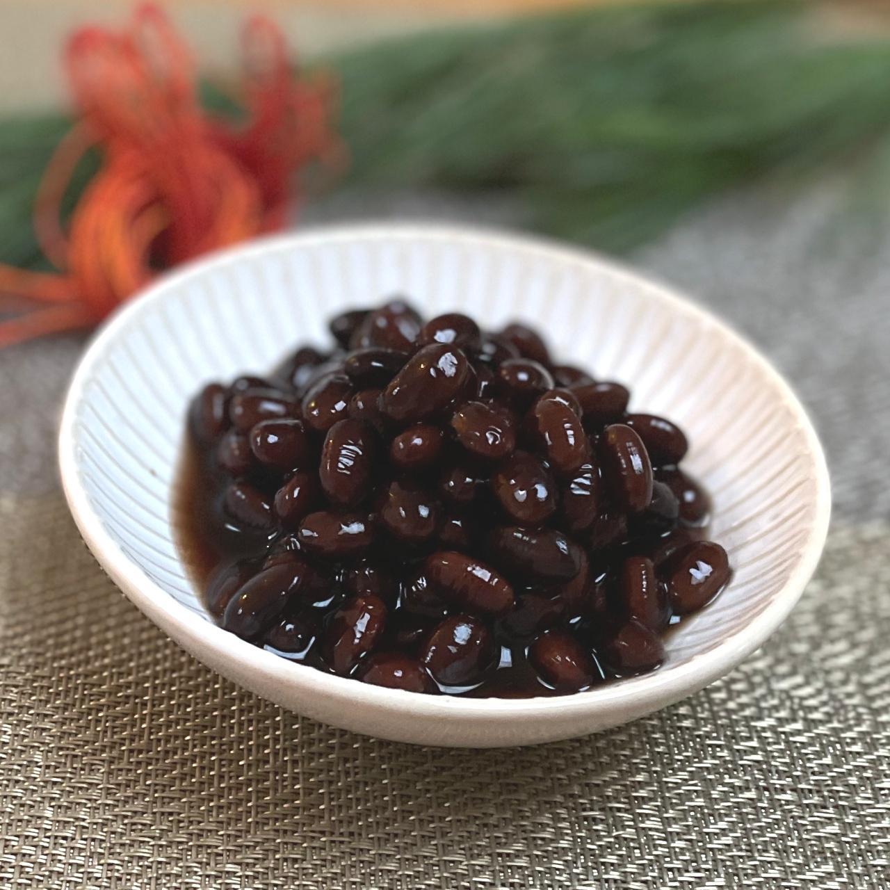おせち 黒豆 レシピ